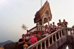 Gruppenfoto am Tempel