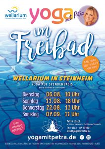 YOGA im FREIBAD im Wellarium Steinheim @ Mineralfreibad Steinheim-Murr | Steinheim an der Murr | Baden-Württemberg | Deutschland